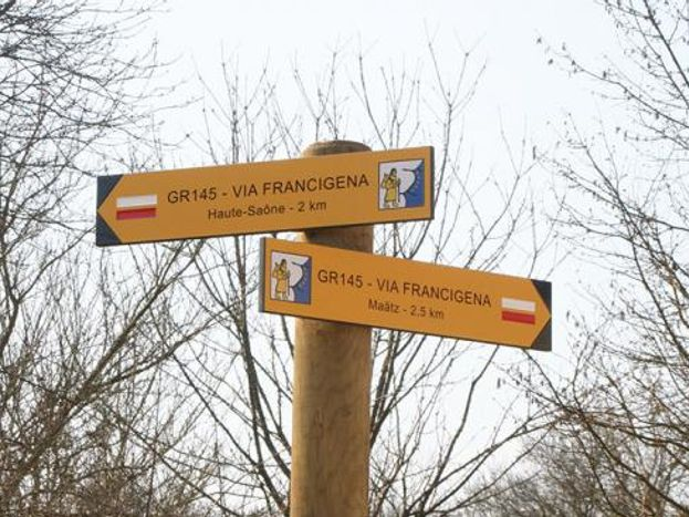 Via francigena à Champlitte, Gîte de groupe,