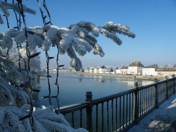 ... et à Gray sous la neige !