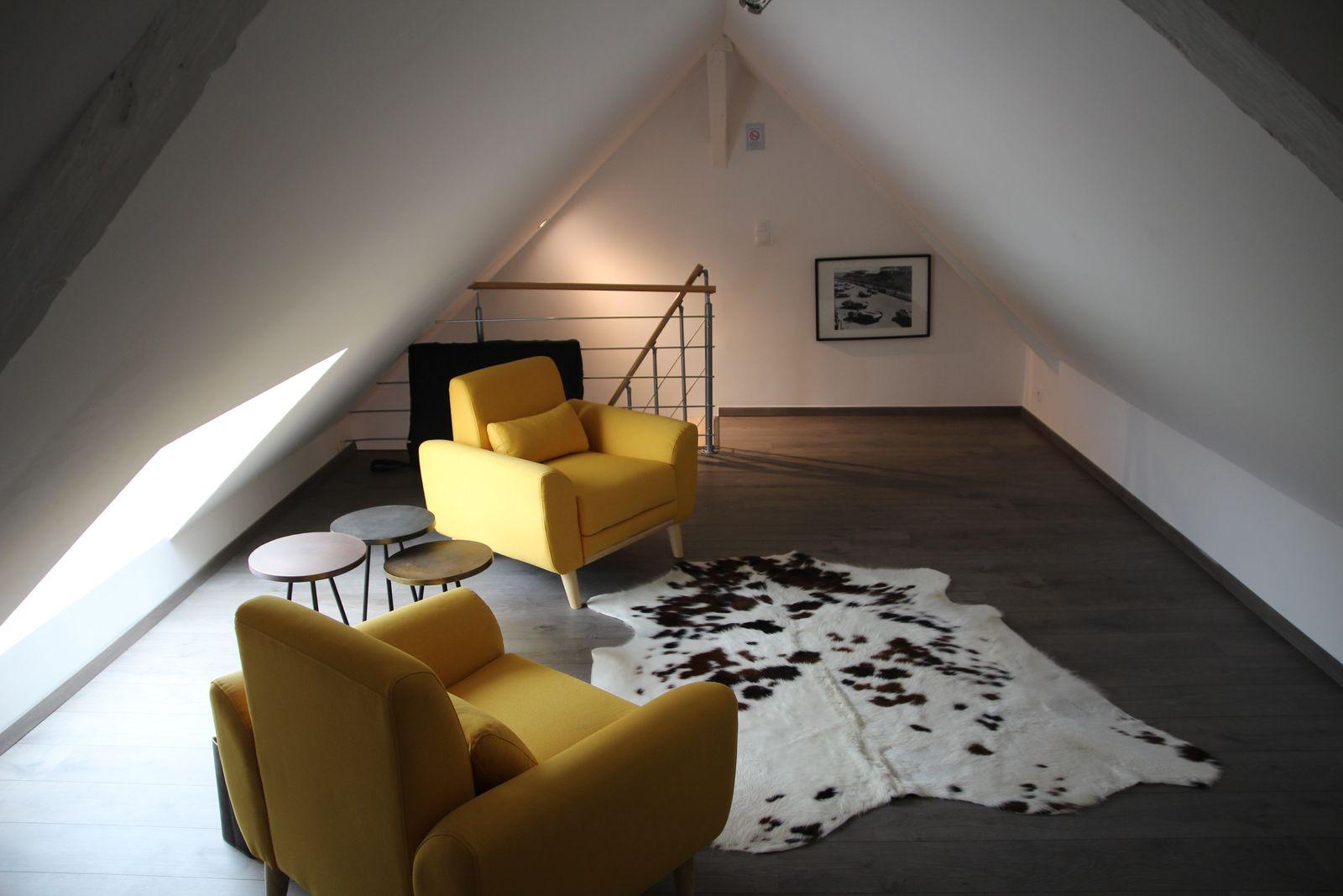 Salon Madeleine de Souvré à l'étage