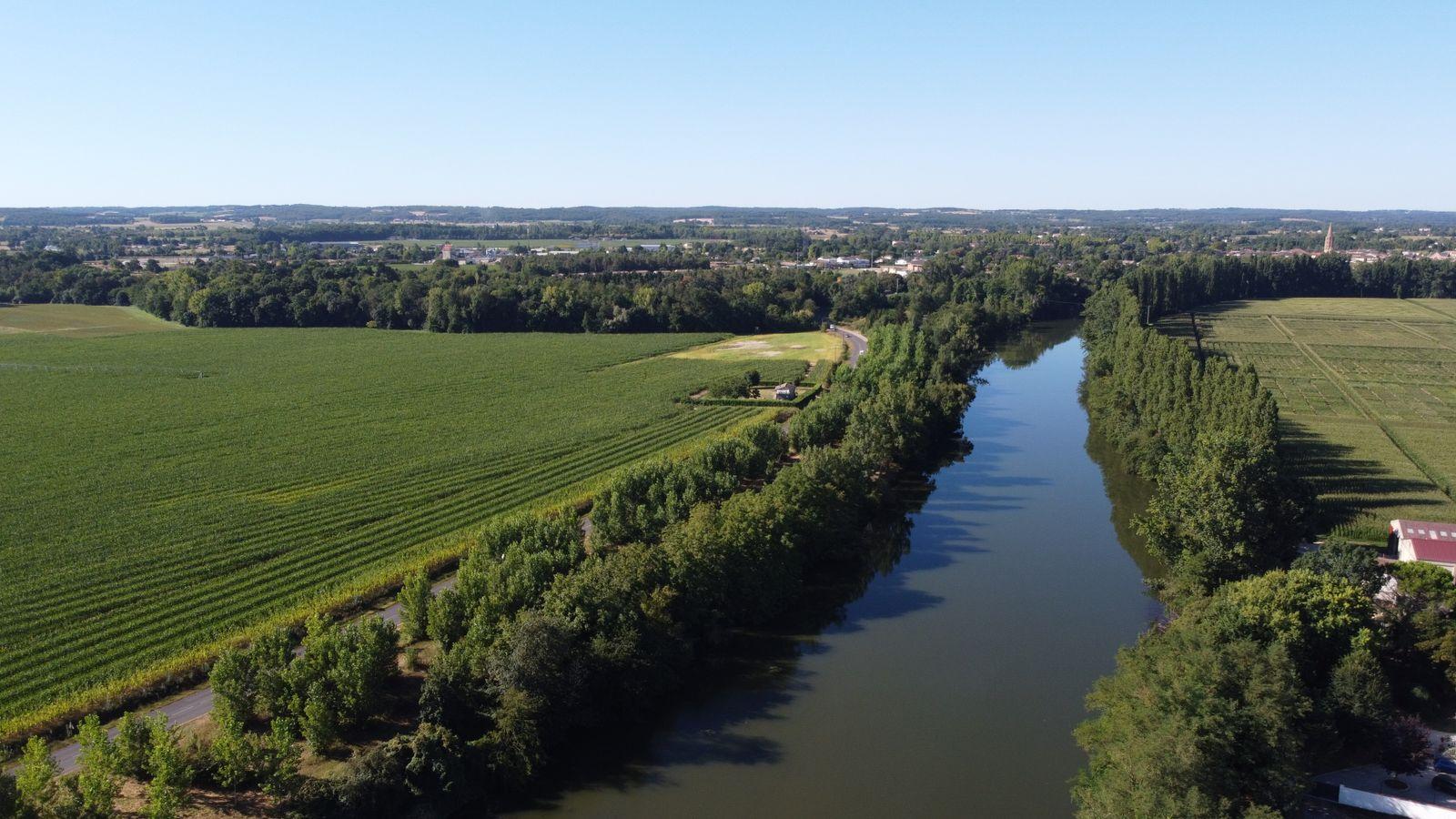 La rivière Aveyron