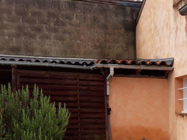 Terrasse privée du gîte