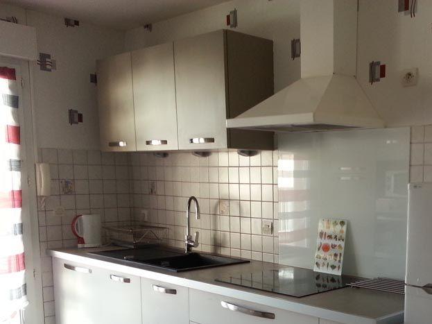 cuisine aménagée +plaque induction +four+ lave vaisselle  +micro onde