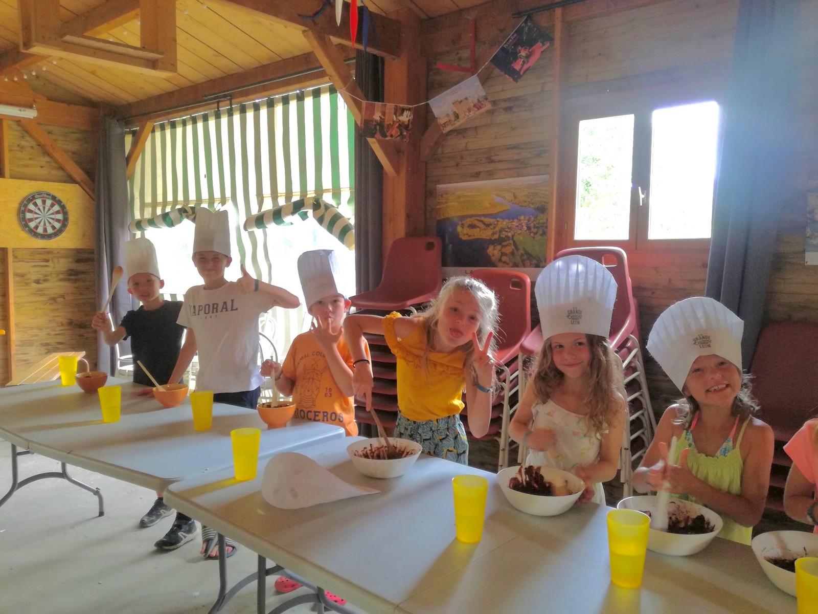 Atelier cuisine pour enfants