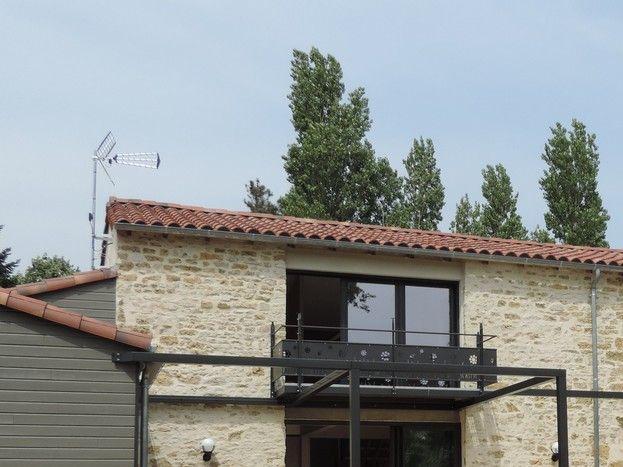 Gîte et terrasse