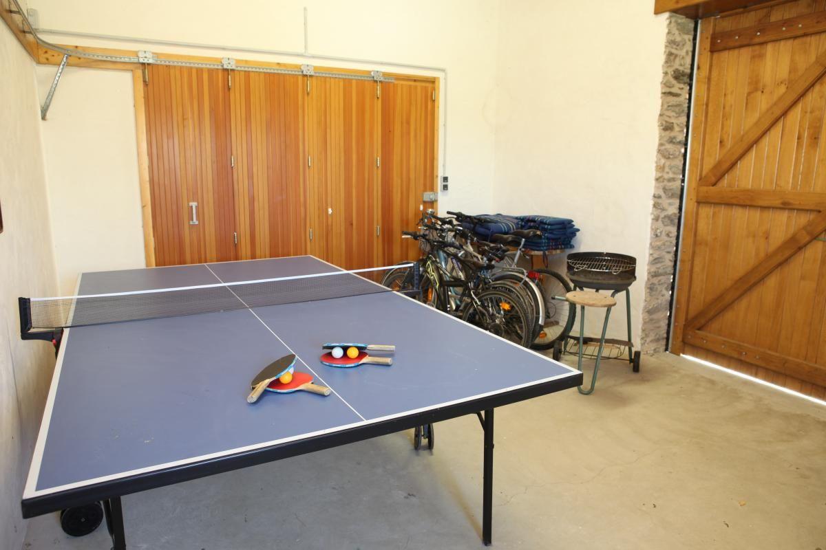 ping pong et vélo
