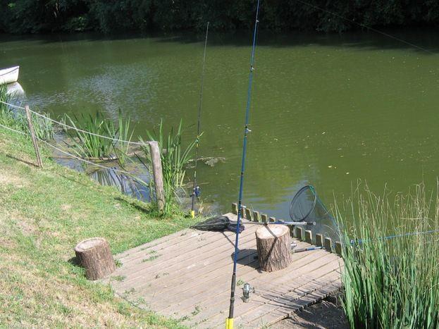 Le ponton de pêche