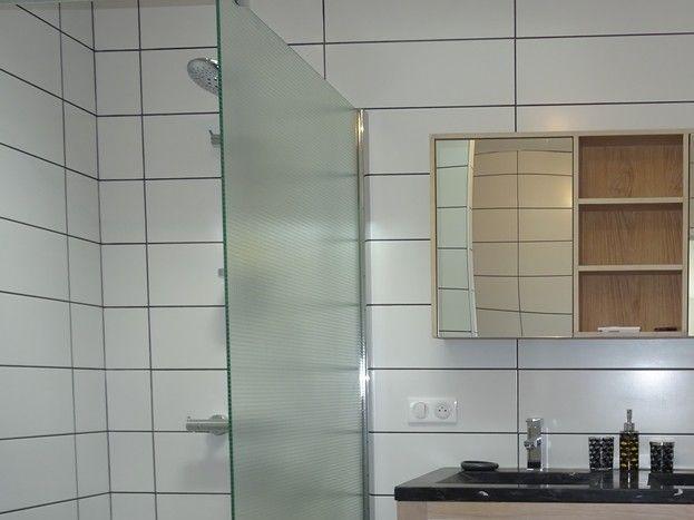 Salle d'eau / toilettes de la chambre du RDC
