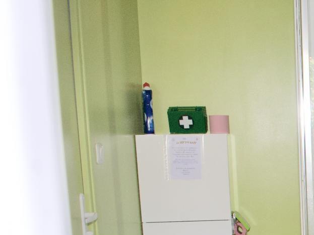 Salle d'eau à l'italienne du SPA