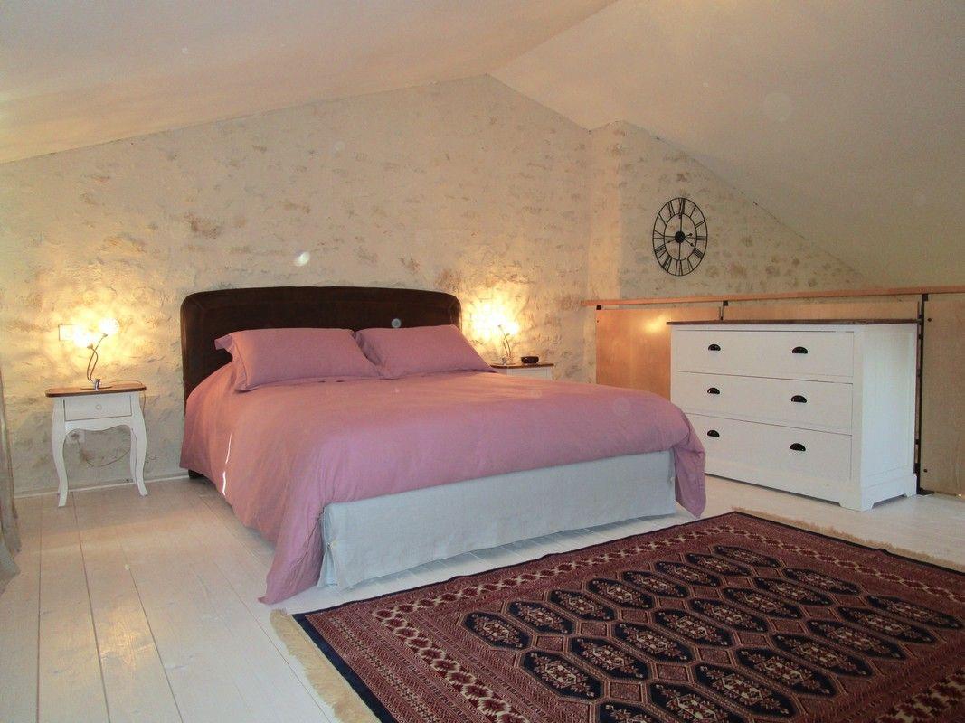 La chambre du gite La Grange.