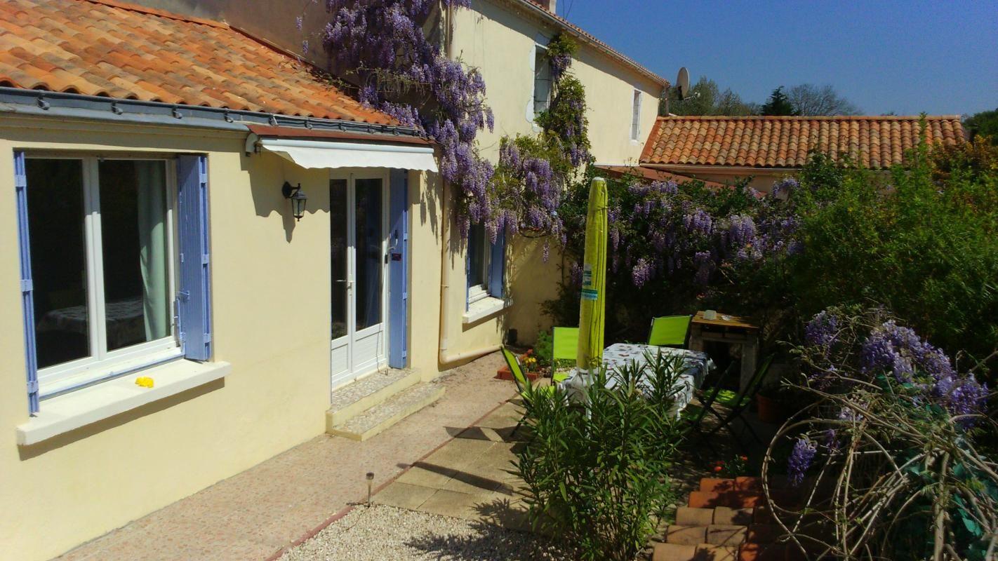 Le  Cottage patio sud avec son BQ