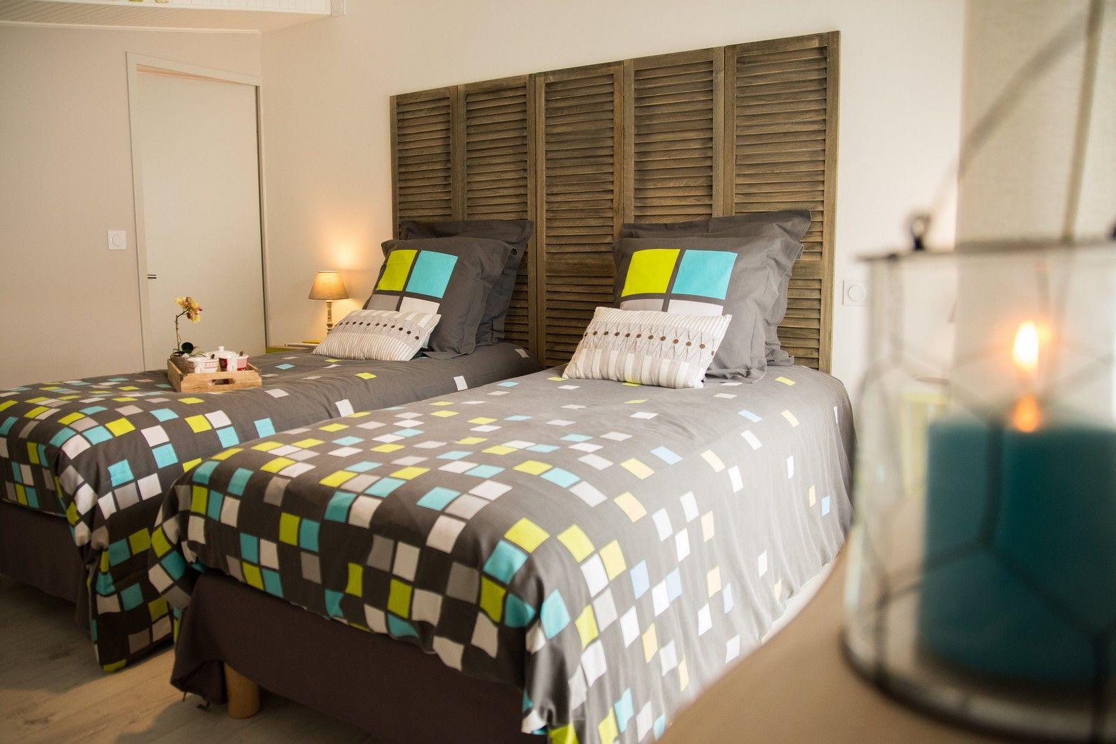 Chambre lit double avec dressing