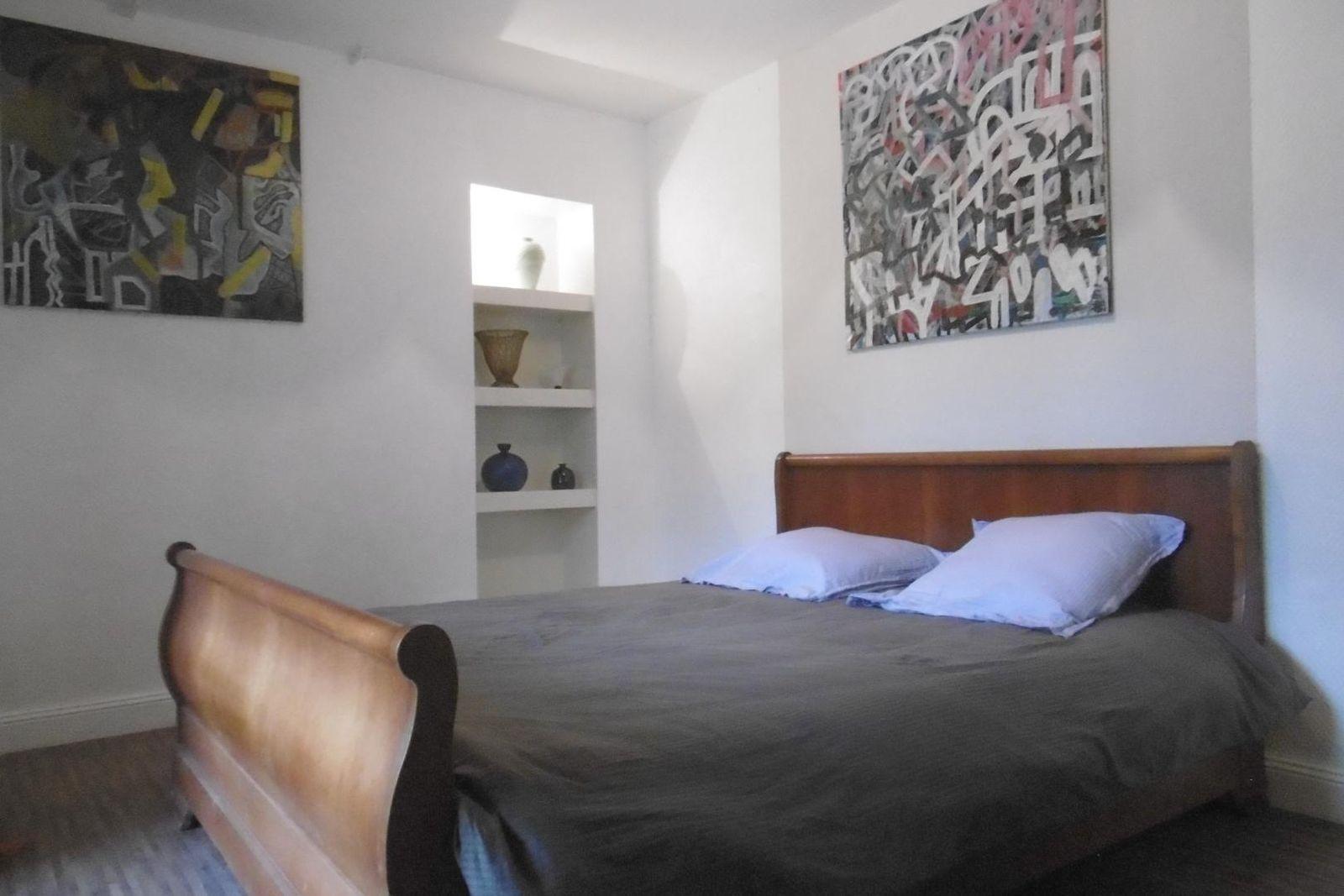 Chambre, lit 160