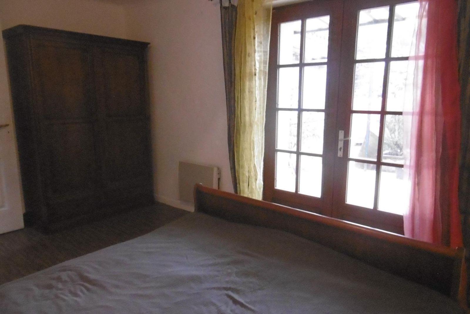 Chambre lit 160, accès terrasse