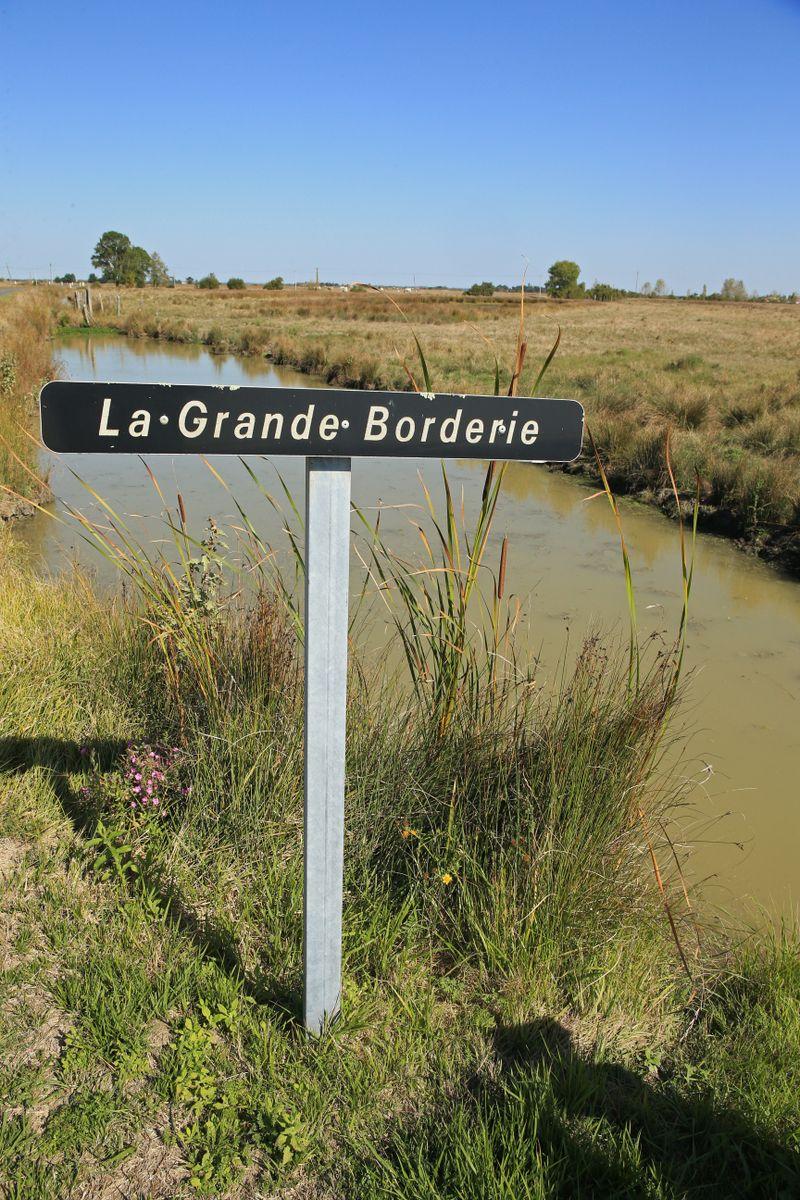 Lieu dit du gîte : La Grande Borderie à St Gervais