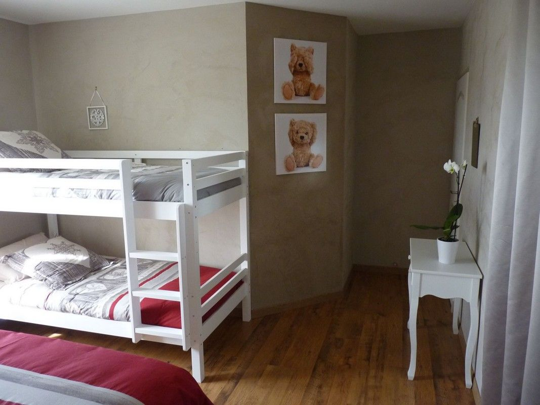 Chambre 1 - RDC (lits superposés)