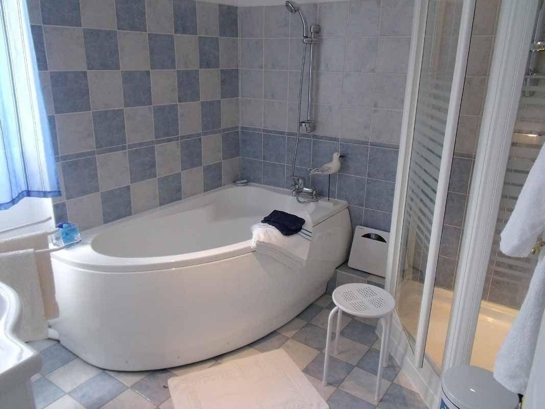 Salle de bain, douche (Chambre familiale)