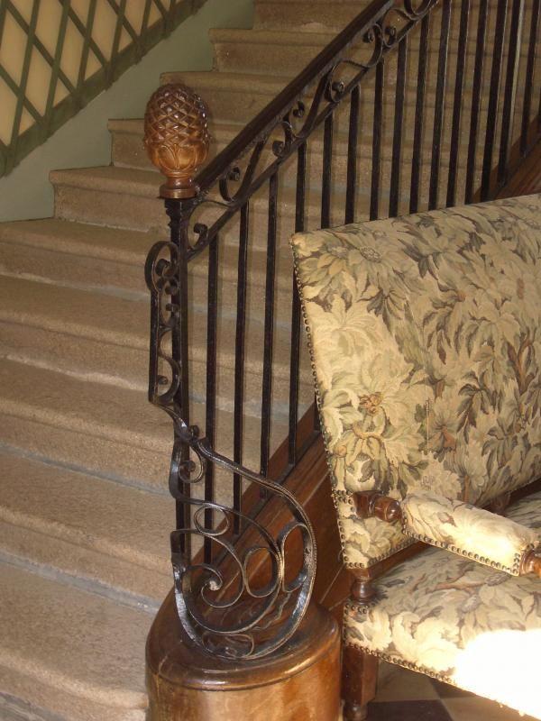 Départ rampe d'escalier