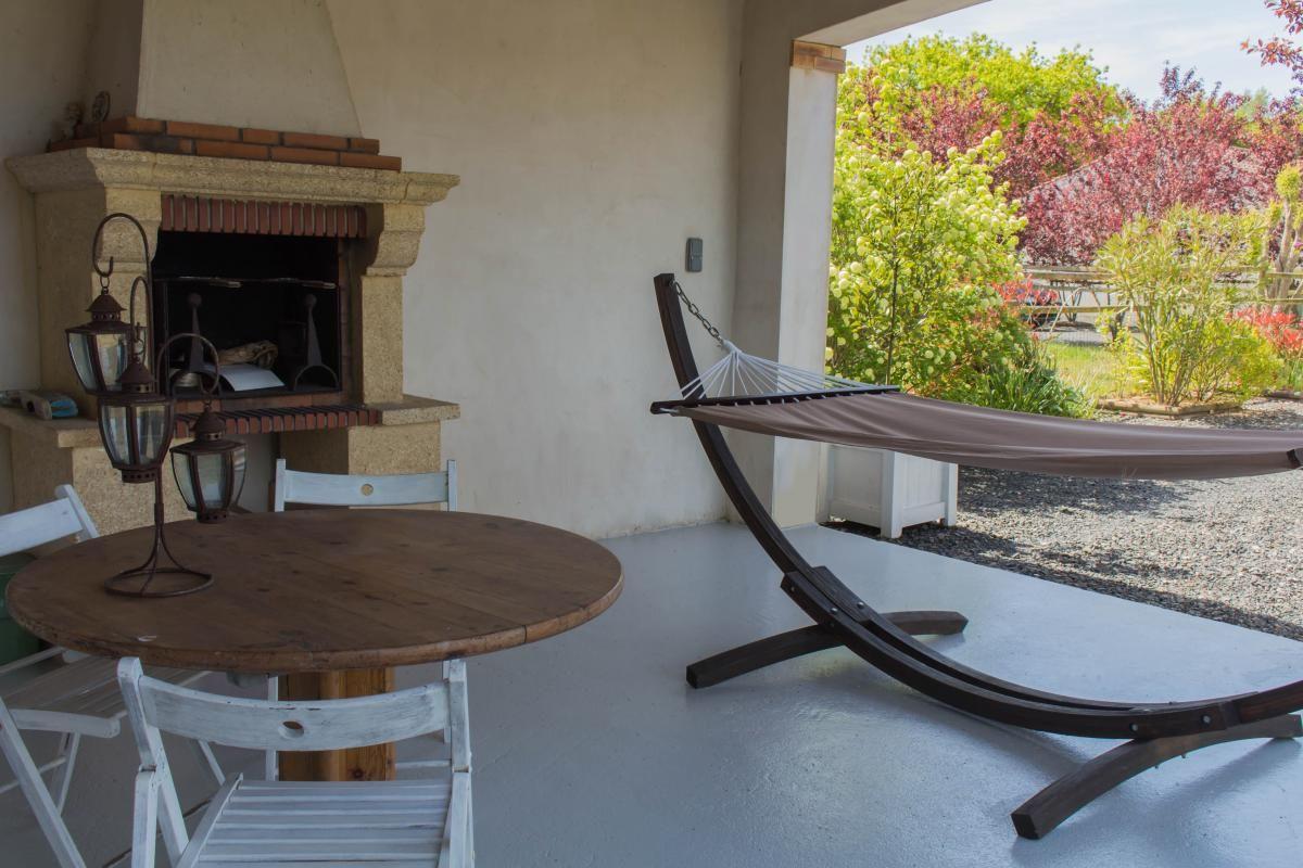 Le salon de jardin barbecue