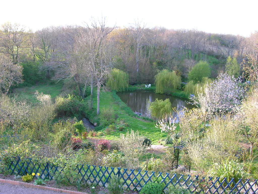 Le Parc paysager au Printemps