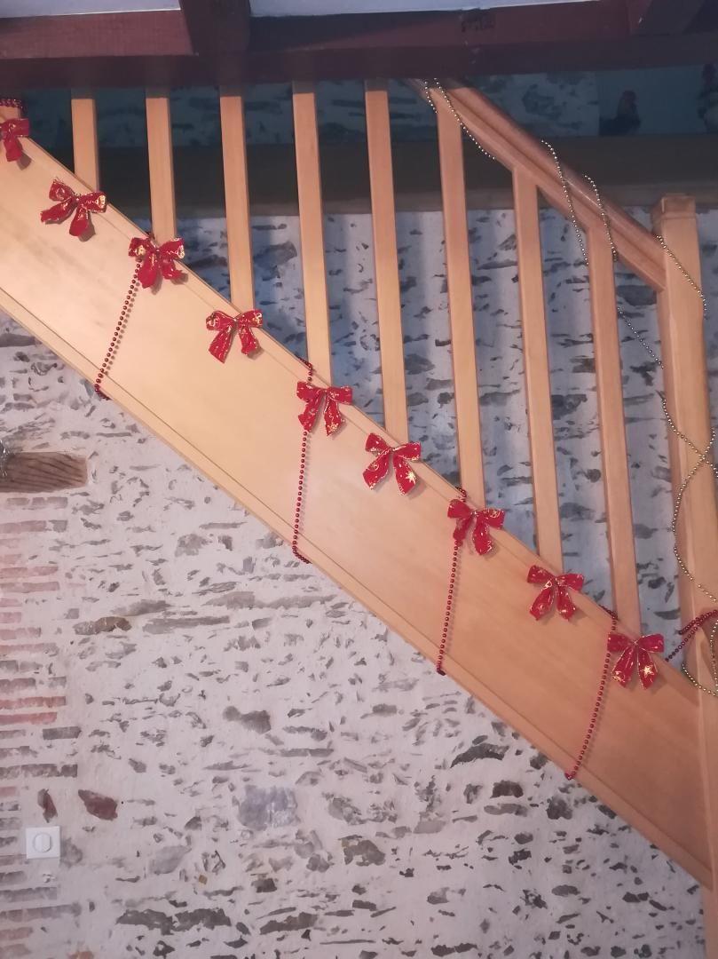 La salle commune aux couleurs de Noël