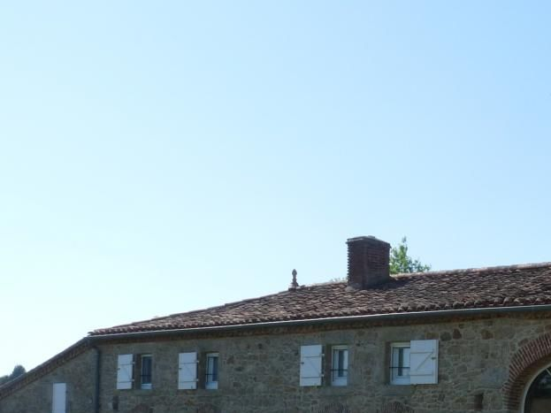 la façade sud: salle des petits déjeuners