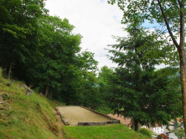 terrain de boules ou molki