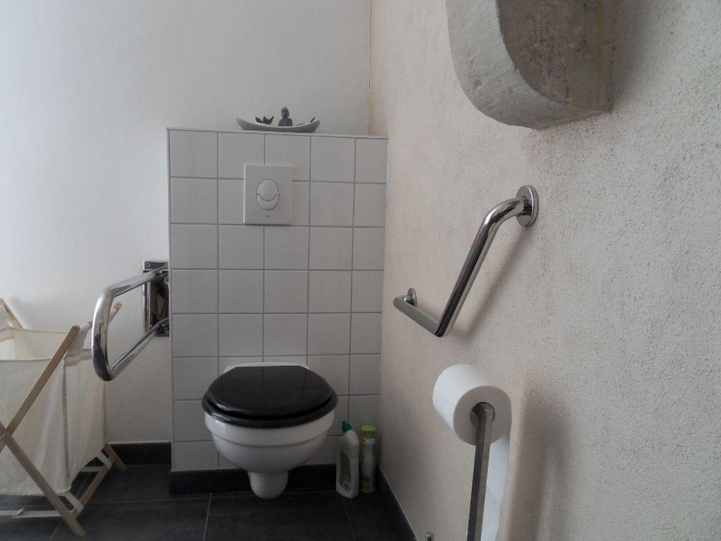 Toilettes au rez de chaussée accessible handicapé