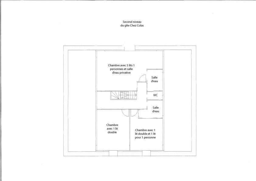 Plan du second niveau donné à titre d'information