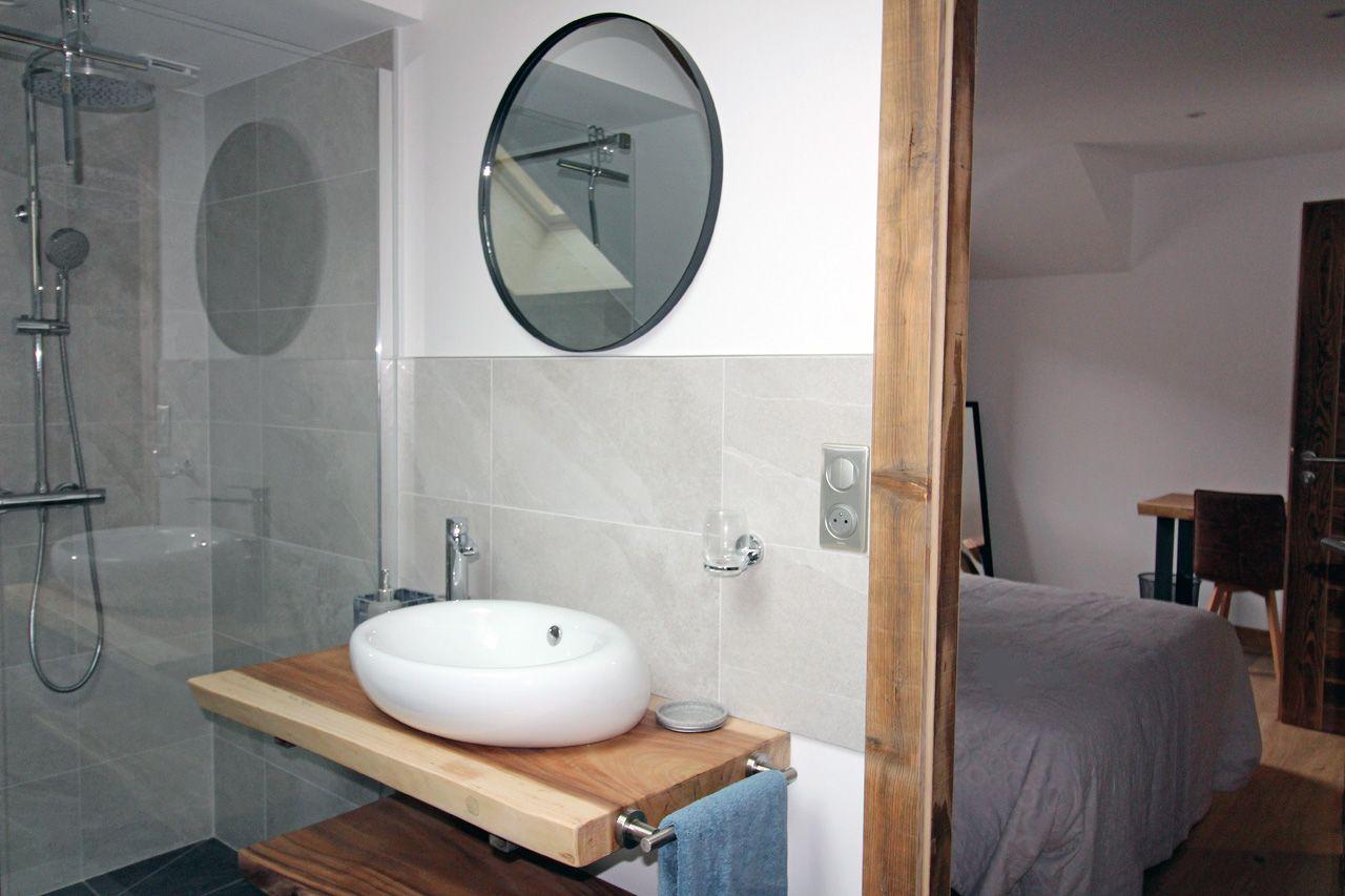 Salle de bain   Chambre :La Roche des 4 clochers