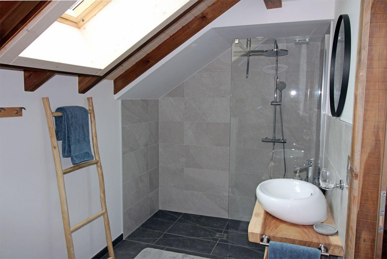 Salle de bain Chambre  La Roche des 4 Clochers