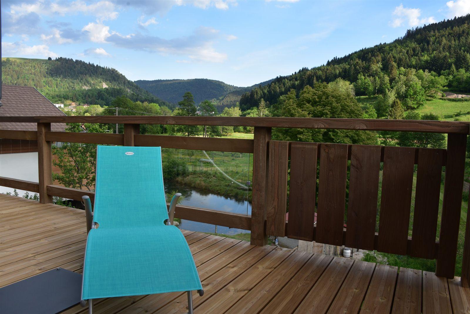 Relax et vue sur la terrasse