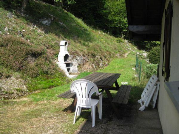 salon de jardin, barbecue